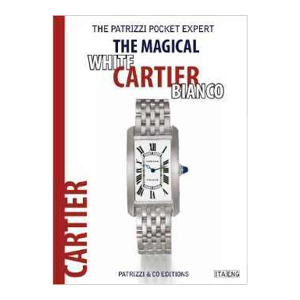 White Cartier Bianco Patrizzi Pocket Expert Watch Book