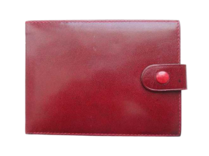 Vintage Leather Rolex Wallet