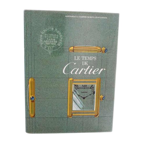 Les Temps de Cartier Book by Barracca, Negretti, and
