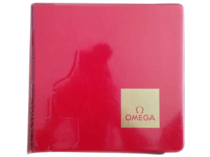 Lot #10062 Vintage Omega Master Dealer Watch Model Catalog Accessories Omega