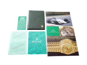 Rolex Cosmograph Daytona 165288 16520A 164233 Booklet