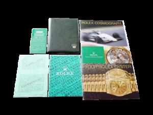 Rolex Cosmograph Daytona 165288 16520A 164233 Booklet
