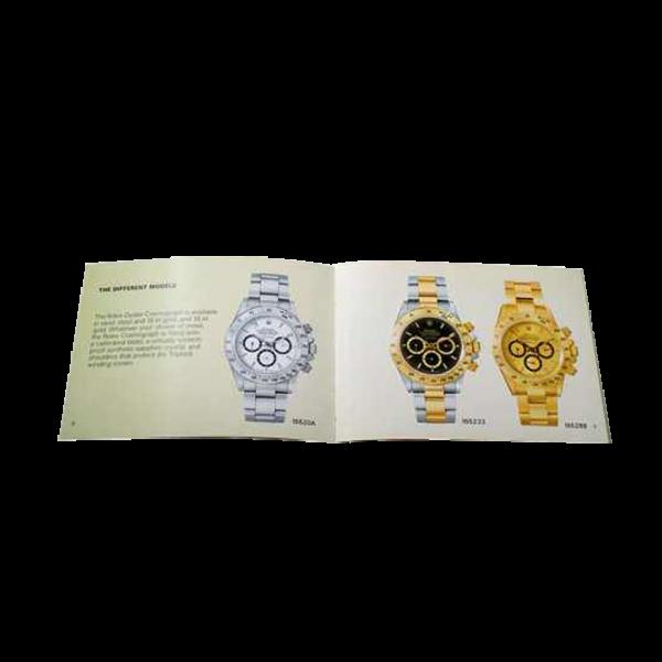 Lot #3065 Rolex Cosmograph Daytona 165288 16520A 164233 Booklet