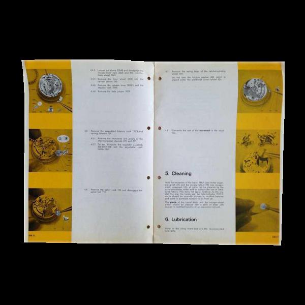 Lot #3067 Vintage Lot Of 3 Longines Technical Caliber Brochures