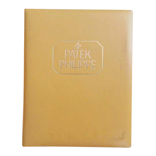 Lot #3068 Vintage Patek Philippe Dealer Master Catalogue 2499