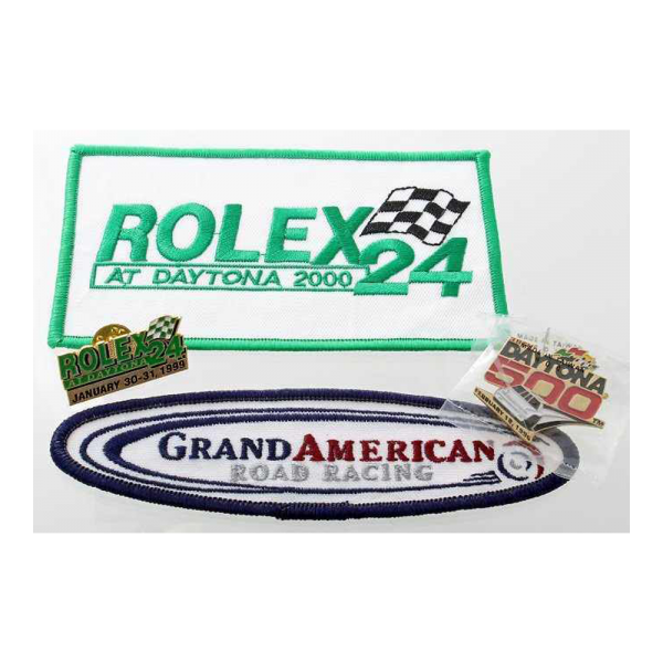 Rolex Daytona 24 Hours Race Pin Patches 1996 1999 2000