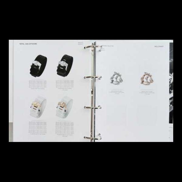 Lot #3282A Rare Audemars Piguet Dealer Master General Catalogue