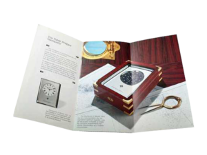 Patek Philippe Naviquartz II and III Brochure with Data