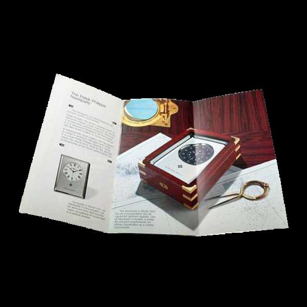 Patek Philippe Naviquartz II and III Brochure with Data