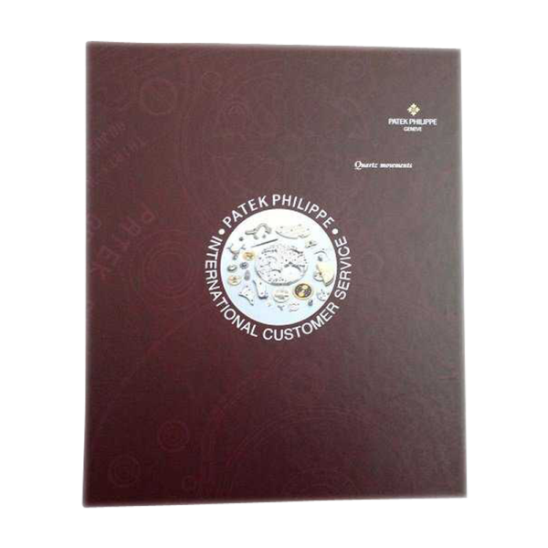 Lot #3076 Very Rare Set of 4 Patek Philippe Movements Master Catalogs