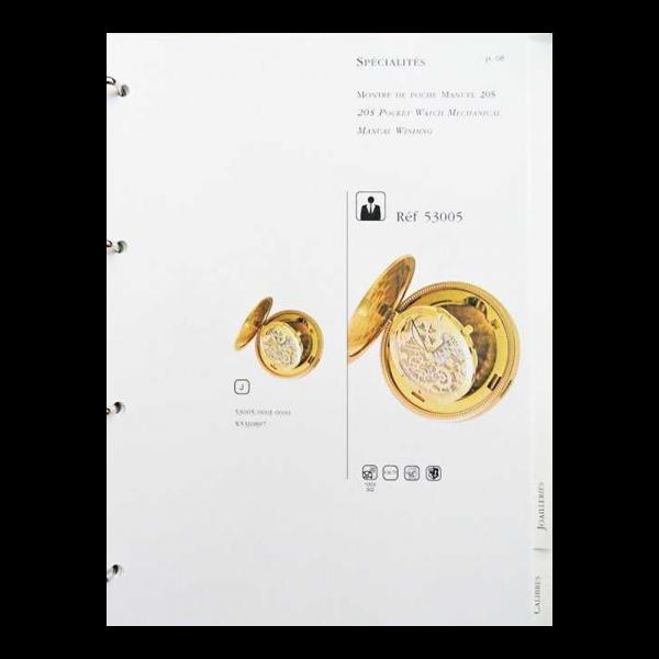 Lot #3080 Vacheron Constantin Geneve Dealer Master Catalog Binder