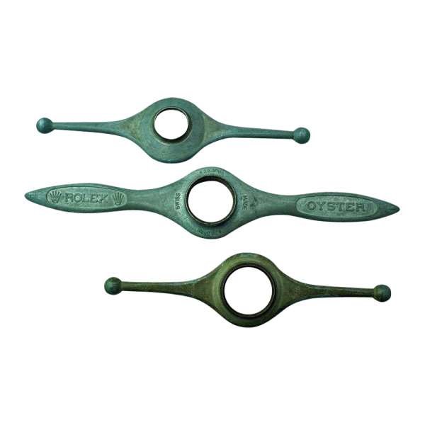 Set of Three Swiss Made Rolex Oyster Case Openers