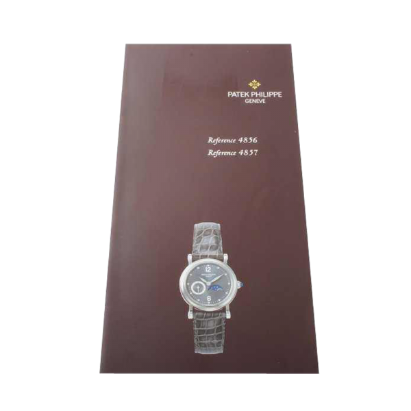 Ladies Patek Philippe References 4856 and 4857 Manual