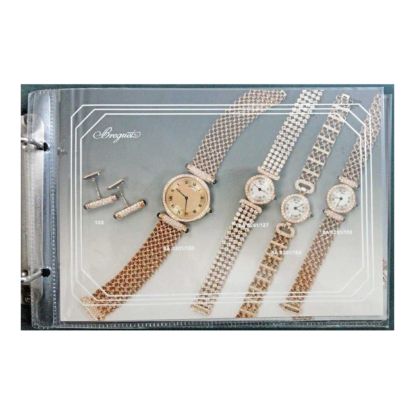 Breguet Dealer Master Catalog Binder Circa 1980`s