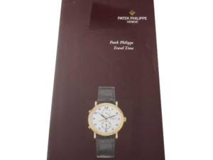Patek Philippe Travel Time 5034 Owners Manual