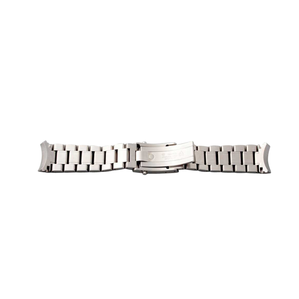 Lot #3338D Stainless Steel Omega Speedmaster Watch Bracelet 1564/975 Omega Bracelets