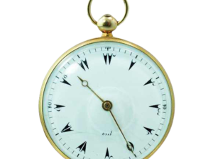 Vintage 18k Yellow Le Roy Turkish Market Pocketwatch