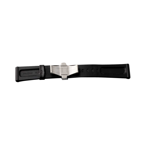 Lot #3138 Officine Panerai Rubber Watch Strap with Deployant