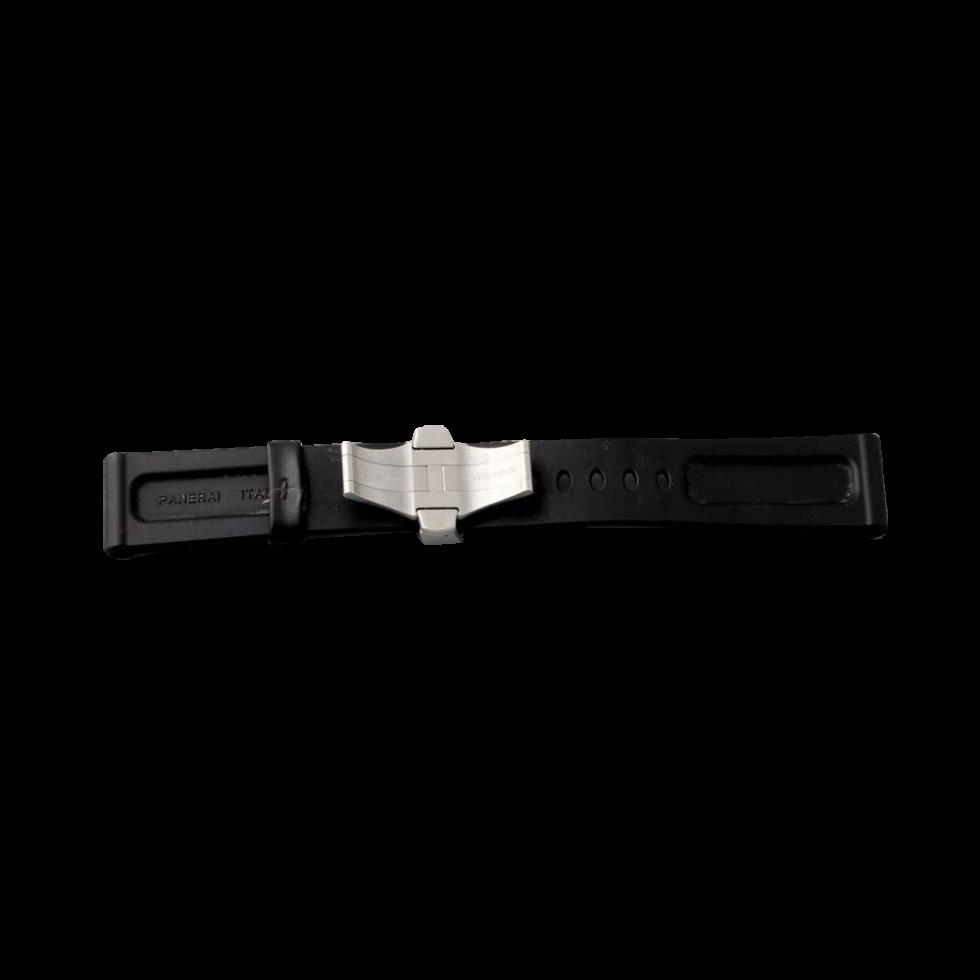 Lot #3243A – Officine Panerai Rubber Watch Band 24MM Panerai Panerai