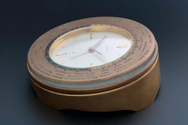 Gubelin World Time Alarm Desk Clock - Baer Bosch Auctioneers