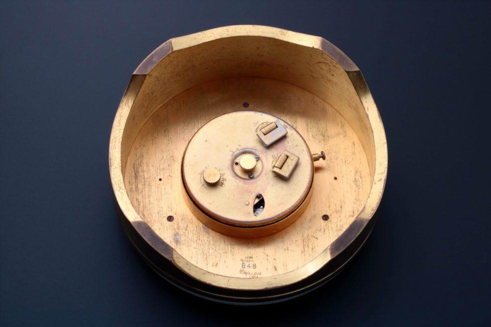 Lot #4971a – Gubelin World Time Alarm Desk Clock Clocks Gubelin