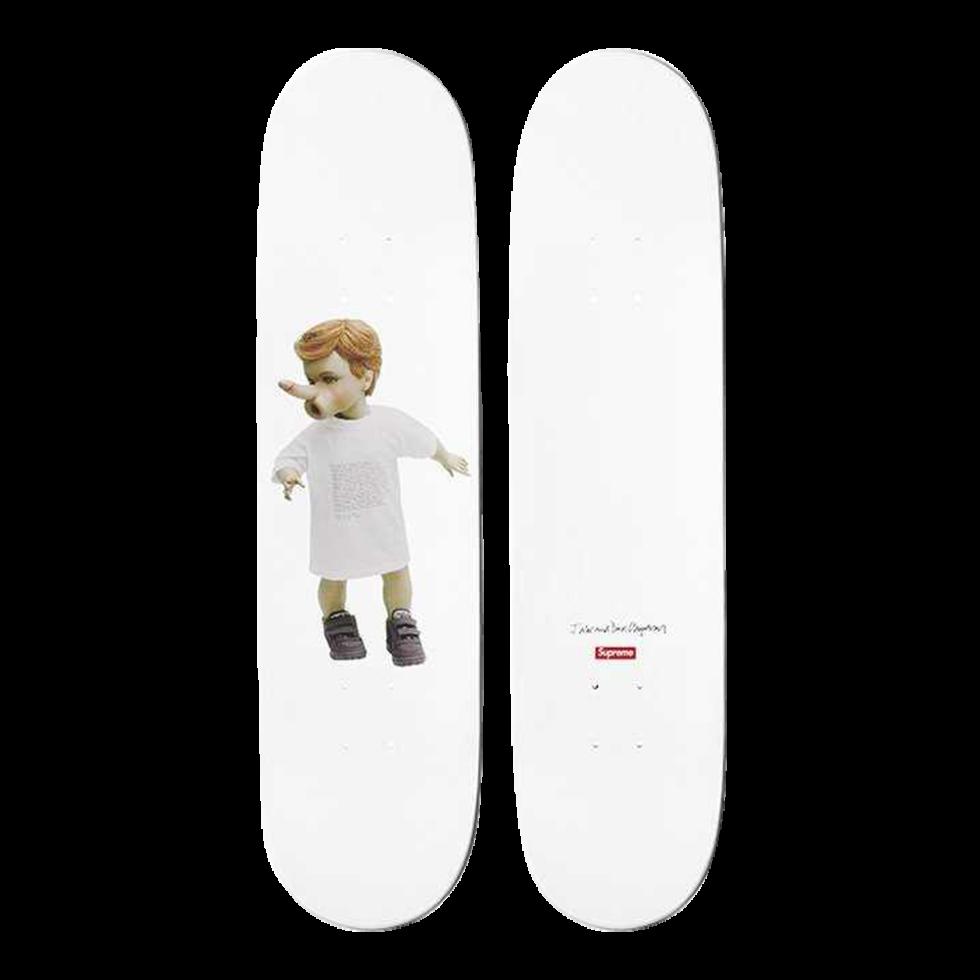 Lot #9709 – Chapman Brothers x Supreme Skateboards Skate Deck Set of 5 Skateboard Decks Chapman Brothers