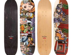 Sean Cliver Skateboard 2 Deck Set for Supreme New York
