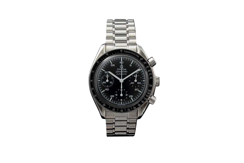 Lot #3147A Gents Stainless Steel Omega Speedmaster Watch Auction Omega