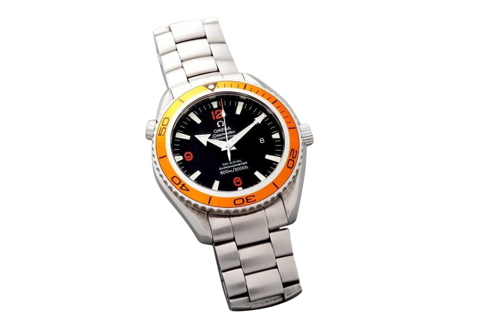 Lot #3152A Omega Seamaster Professional Planet Ocean CoAxial Watch Auction Auction