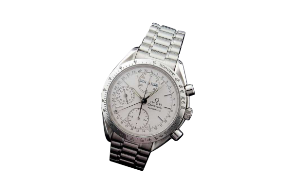 Lot #3155 Omega Speedmaster Triple Date Chronograph Watch