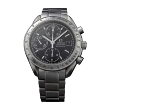 Men`s Stainless Steel Omega Speedmaster Date Watch