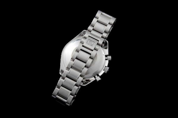 Lot #3158 Men`s Stainless Steel Omega Speedmaster Date Watch