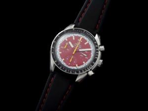 Omega Speedmaster Red Schumacher Chronograph Watch
