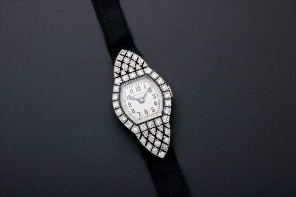 Breguet Platinum Diamond Art Deco Watch – Baer Bosch Auctioneers