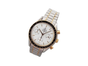 Yellow Gold and Steel Omega Speedmaster Chronograph