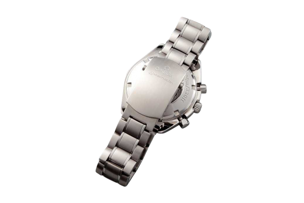Lot #3176 Stainless Steel Omega Speedmaster Date Chronograph