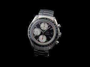 Stainless Steel Omega Speedmaster Chronograph Date