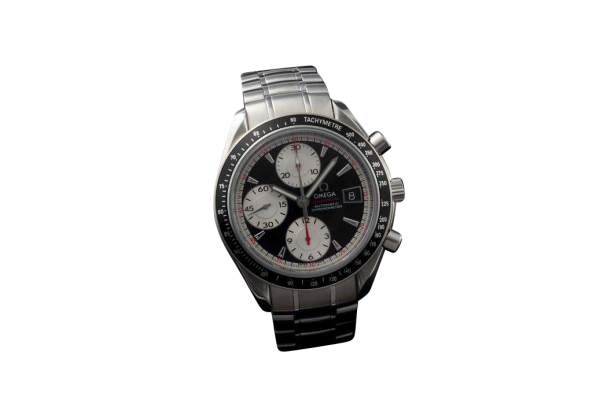 Lot #3178A Stainless Steel Omega Speedmaster Chronograph Date