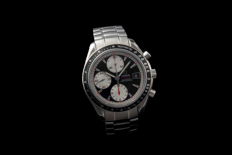 Lot #3178A Stainless Steel Omega Speedmaster Chronograph Date Chronograph Chronograph