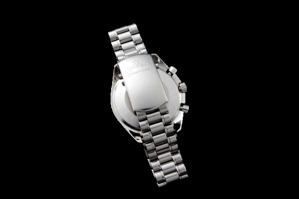 Lot #3180 Men`s Steel Omega Speedmaster Reduced Moon Watch