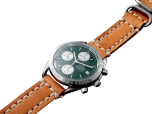 Special Edition Green Omega Speedmaster Date Watch