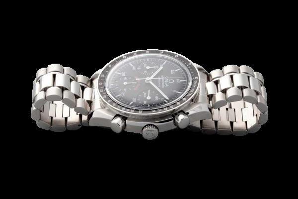 Lot #3191 Limited Edition Omega Speedmaster AC Milan Soccer Watch