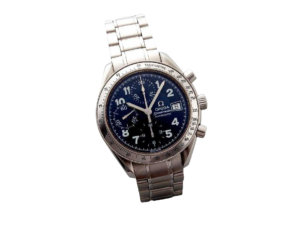 Special Edition Blue Arabic Omega Speedmaster Date