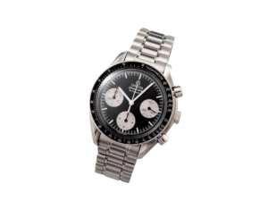 Special Edition Black Grey Omega Speedmaster Watch