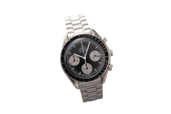 Lot #3248A Special Edition Black Grey Omega Speedmaster Watch