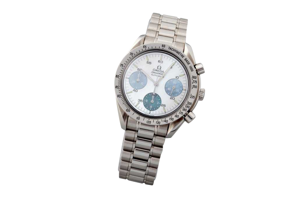 3198_1 Special Edition Omega Speedmaster Mother of Pearl Watch