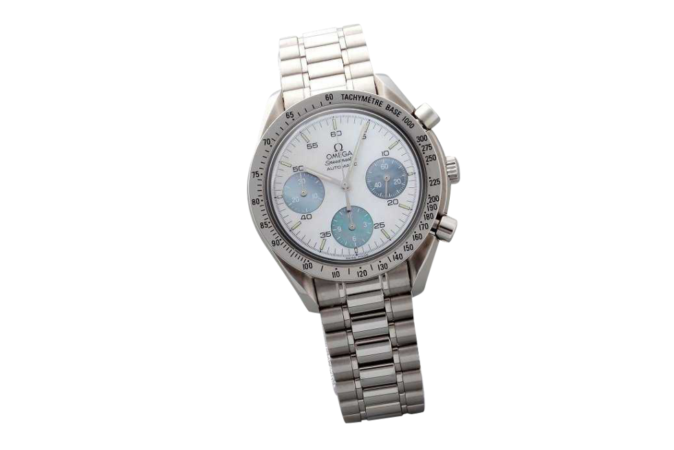 Lot #3248B Special Edition Omega Speedmaster Mother of Pearl Watch Auction Auction