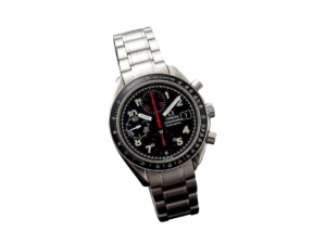 Special Edition Omega Speedmaster Black Mark 40 Watch