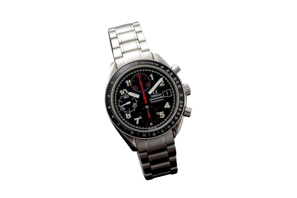 Lot #3248C Special Edition Omega Speedmaster Black Mark 40 Watch Auction Auction
