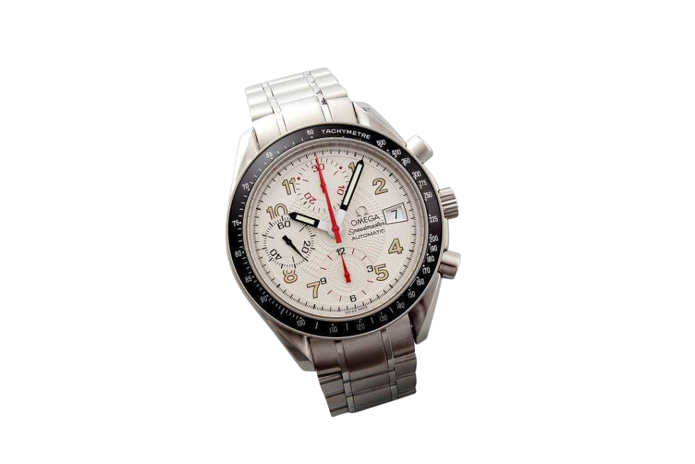 Lot #3202A Special Edition Omega Speedmaster Silver Dial Mark 40 Omega Omega Speedmaster Mark 40